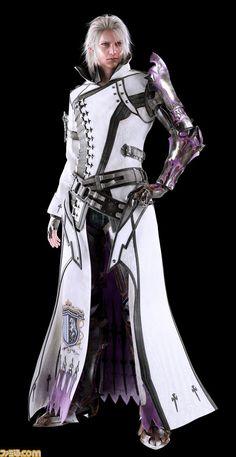 Final Fantasy XV previews new CG renders for Cor, Iris, Cidney and more - Nova Crystallis