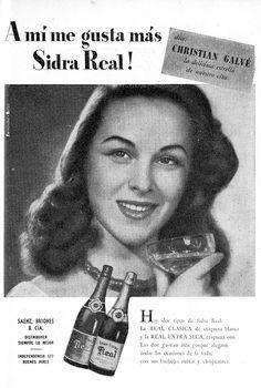 Elisa Christian Galvé y SIDRA REAL, Argentina, 1951.