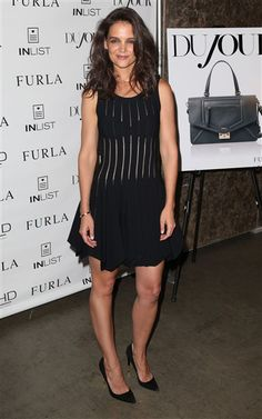 Kate Holmes attends the Dujour Magazine Fall Issue Celebration in New York City on Sept. 16, 2014.