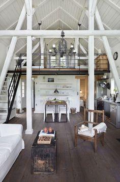 A-frame, converted barn, loft [Get Inspired, visit: www.myhouseidea.com]