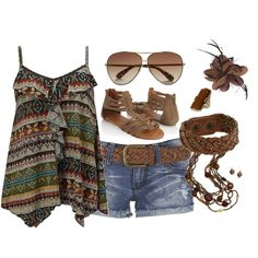 Summer, created by missyfer88 on Polyvore
