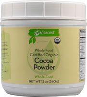 Vitacost Whole Food Certified Organic Cocoa Powder - Non GMO