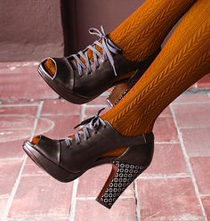 TRANCAT style #chiemihara #ShoesMadeInSpain #MadeInSpain #DesignerShoes