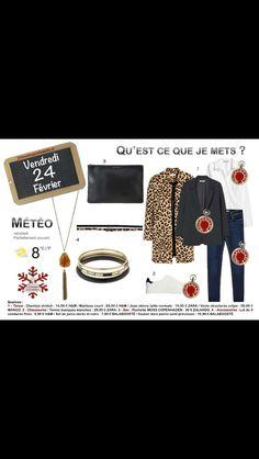 Le #blazer #noir #blackblazer #leopardprint #chemise. http://www.2minutesjemhabille.fr/fr/vendredi-24-fevrier-le-blazer-noir/