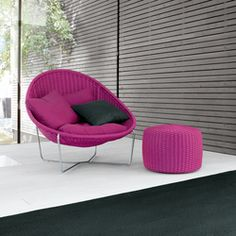 Armchairs-Garden armchairs-Seating-Nido-Paola Lenti