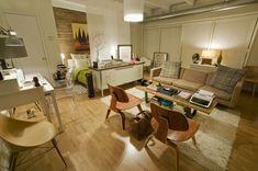 Studio 500 sq ft