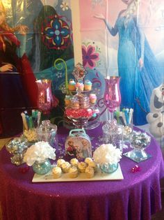Candy/Cupcake Table