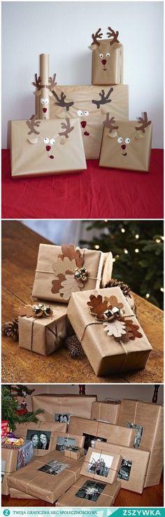 Zobacz zdjęcie świąteczne prezenty w pełnej rozdzielczości