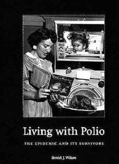 Polio victim in Iron lung