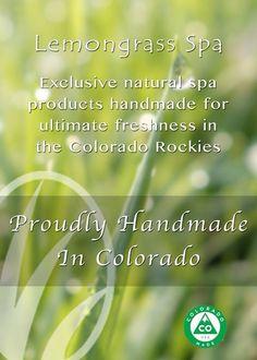 Lemongrass Spa - Proudly Handmade in Colorado Order today www.ourlemongrassspa.com/4570
