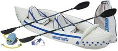 Sea Eagle 370 Pro Inflatable Kayak...great way to get on the lake and awesome exercise!