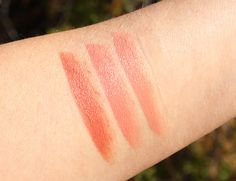 bareMinerals Modern Pop Collection Swatches and Review - Marvelous Moxie Lipsticks
