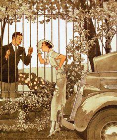 Vintage Illustration - Lee Sutton, via Flickr