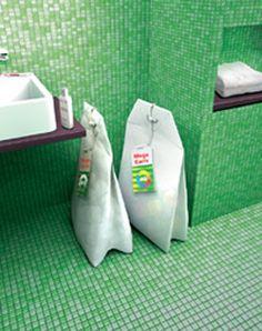 Design Idee: Teebeutel als Wäsche Box
