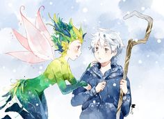 Rise of the Guardians - Jack Frost x Toothiana - Frostbite