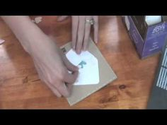 We R Memory Keepers Envelope Punch Board & Card - YouTube