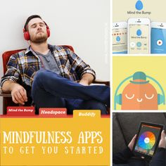 How to not completely lose your sh!t - #mindfulness apps: Mind the Bump, Headspace, Buddhify.