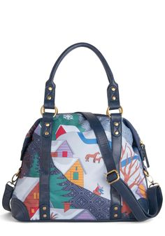 Wonderland I Love Bag, #ModCloth