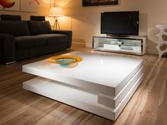 Superb Extra Large Modern Square White Gloss Coffee Table intended for dimensions 900 X 900 Large Square Modern Coffee Table - A round wood Extra Large Coffee Table, Modern Square Coffee Table, Contemporary Coffee Table, Cool Coffee Tables, Coffe Table, Decorating Coffee Tables, Coffee Table Design, Coffee Cups, White Gloss Coffee Table