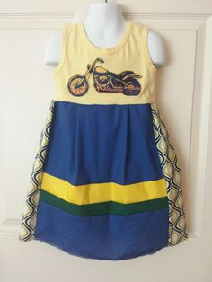 Upcycled Girls Dress for Party