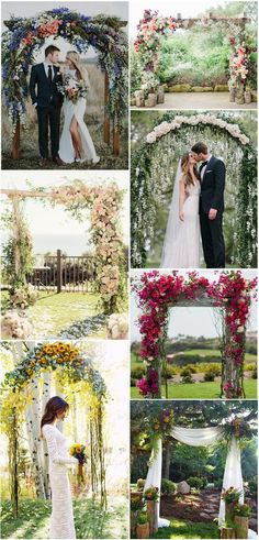 Floral-and-Greenery-Wedding-Arches-Ideas-for-Spring-and-Summer-Weddings.jpg (600×1250)