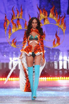 7fc3fa1ef4 Joan Smalls Photos - Model Joan Smalls walks the runway during the 2012 Victoria s  Secret Fashion Show at the Lexington Avenue Armory on November 2012 in ...