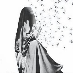 Muslim Couple Photography, Horse Girl Photography, Anime Muslim, Muslim Hijab, Arab Girls Hijab, Muslim Girls, Hijab Niqab, Mode Hijab, Hijabi Girl