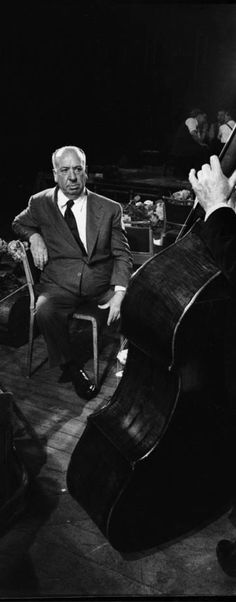 """Alfred Hitchcock on the set of """"The Man Who Knew Too Much"""" (1956). Great site detailing the classic orchestra scene....http://backlots.net/2013/03/08/creative-direction-and-editing-in-the-symphony-scene-of-the-man-who-knew-too-much-1956/"""