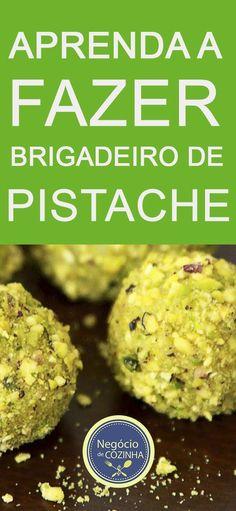 Aprenda uma receita deliciosa de BRIGADEIRO DE PISTACHE! #brigadeirodepistache #brigadeiro #brigadeirogourmet #pistache #doce #receita #façaevenda #façavocêmesmo #ganhardinheiro #venderdoces #negóciodecozinha #cozinhalucrativa