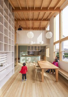 Built by MTKarchitects in Ina, Japan with date 2014. Images by Yuko Tada. I am always aware of harmony with the surrounding environment and neighborhood, and relations between buildings and n...