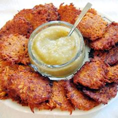 Sweet Potato Latkes Allrecipes.com