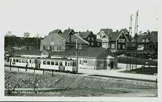 Christiania Kristiania Oslo  Trikk Lilleakerbanen Bærumsbanen Nærmotiv Utg S. Gran stpl. Lilleaker og Egge Jernbanest. 1928