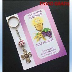 a11593d1180 Llaveros Recuerdos Para Primera Comunión -   17.00 en Mercado Libre