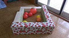 手作りおもちゃ(牛乳パックのミニボールプール) | pawafurukitasenseiのブログ Gift Wrapping, Vegetables, Gifts, Gift Wrapping Paper, Presents, Wrapping Gifts, Vegetable Recipes, Favors, Gift Packaging