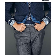 #Incotex wool melange #pants from the #fw15 collection as featured on @stylemagazineitalia #slowear #menstyle #instafashion #smartcasual #stylish