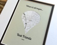Where It All Began Christmas Gift For Best Friend by HandmadeHQ
