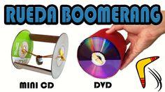 Como Hacer una Rueda Boomerang (Manualidades Fáciles) - YouTube