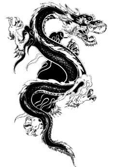 asian dragon tattoo designs - Google Search