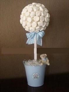 Centros de mesa Baptism Party, Boy Baptism, Christening, Baby Shower Parties, Baby Shower Themes, Baby Boy Shower, Ideas Bautizo, Shower Bebe, Baby Shawer