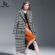 Luxury Beading Diamonds Houndstooth Woolen Long Trench Coats $173.58   => Save up to 60% and Free Shipping => Order Now! #fashion #woman #shop #diy  http://www.clothesdeals.net/product/runway-winter-womens-coat-luxury-beading-diamonds-houndstooth-woolen-long-trench-coats