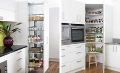 Small pantry ideas for tight kitchens: Kitchen Storage