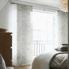 ikea ingamaj panneau les panneaux rideaux sont id aux pour cr er des agencements. Black Bedroom Furniture Sets. Home Design Ideas