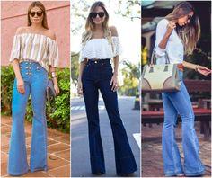 Calça Jeans Flare: Versátil e Estilosa