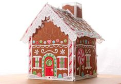 Freestanding Gingerbread House for Machine Embroidery | EMB Design  Studio