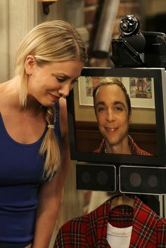Penny and Sheldon.... just my thoughts they should totally date