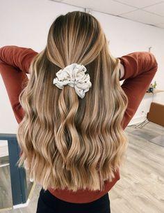 Cute Hairstyles For Teens, Cute Hairstyles For Medium Hair, Back To School Hairstyles, Teen Hairstyles, Pretty Hairstyles, Hairstyle Pics, Undercut Long Hair, Aesthetic Hair, Balayage Hair
