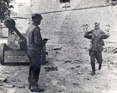 Normandy 1944 German troops surrender