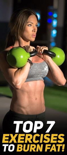 Check out the top 7 exercises to help you burn more body fat and boost weight loss performance! Model Credit: Cornelia Ritzke #fitness #fit #fitfam #gym #exercise #cardio #workout #health | Posted By: NewHowToLoseBellyFat.com