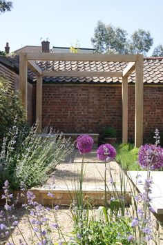 contemporary oak pergola Buckhurst Hill - Lustig Outdoor Design