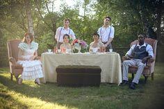 Vintage Garden Wedding Inspiration Shoot by Christine Shields Photography